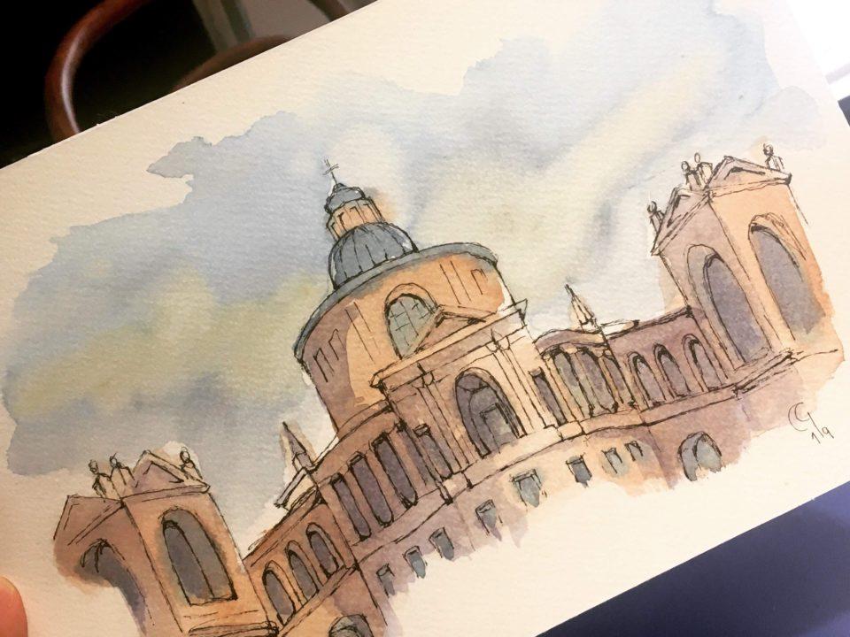 Saint Luke's Church in Bologna