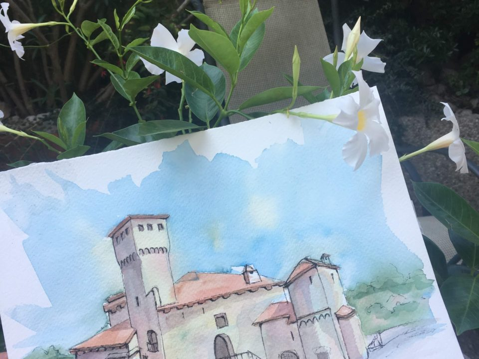 The medieval castle of Artegna