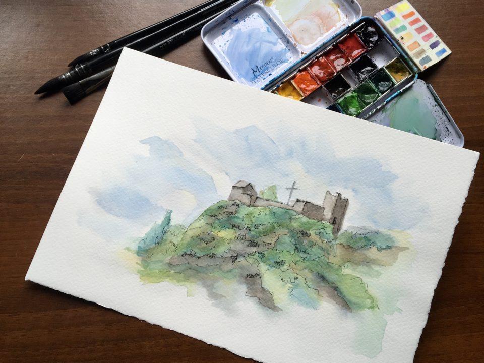 The Castle of the Innominato near Bergamo