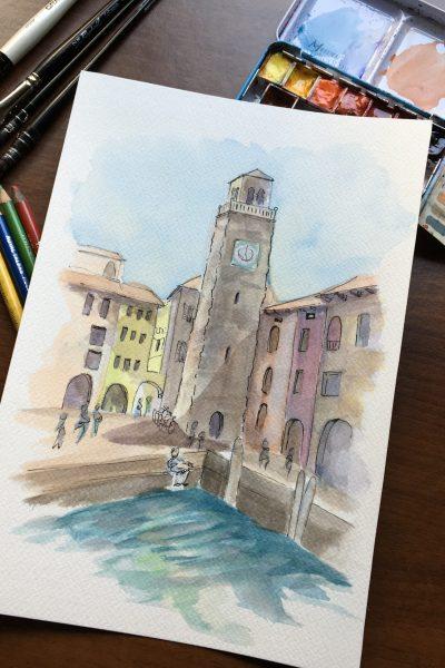 The Torre Apponale in Riviera del Garda