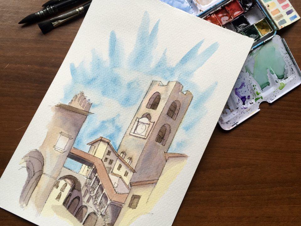 The Old Square of Bergamo