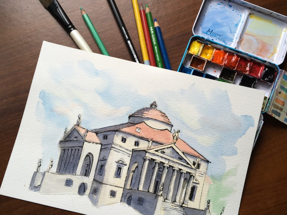 Villa La Rotonda by Antonio Palladio
