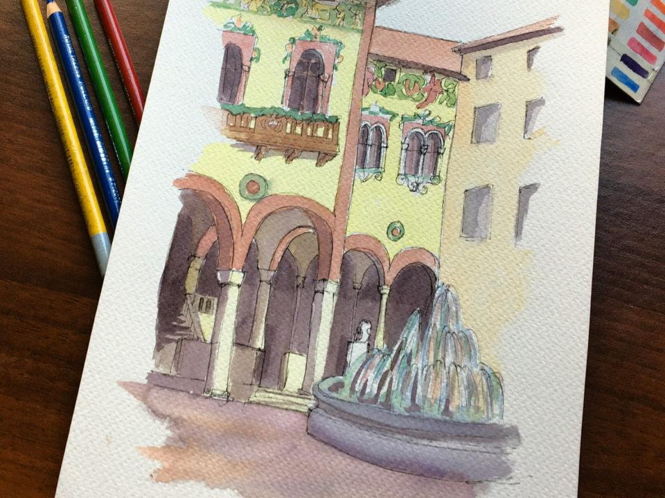 Palazzo del Bene in Rovereto Center