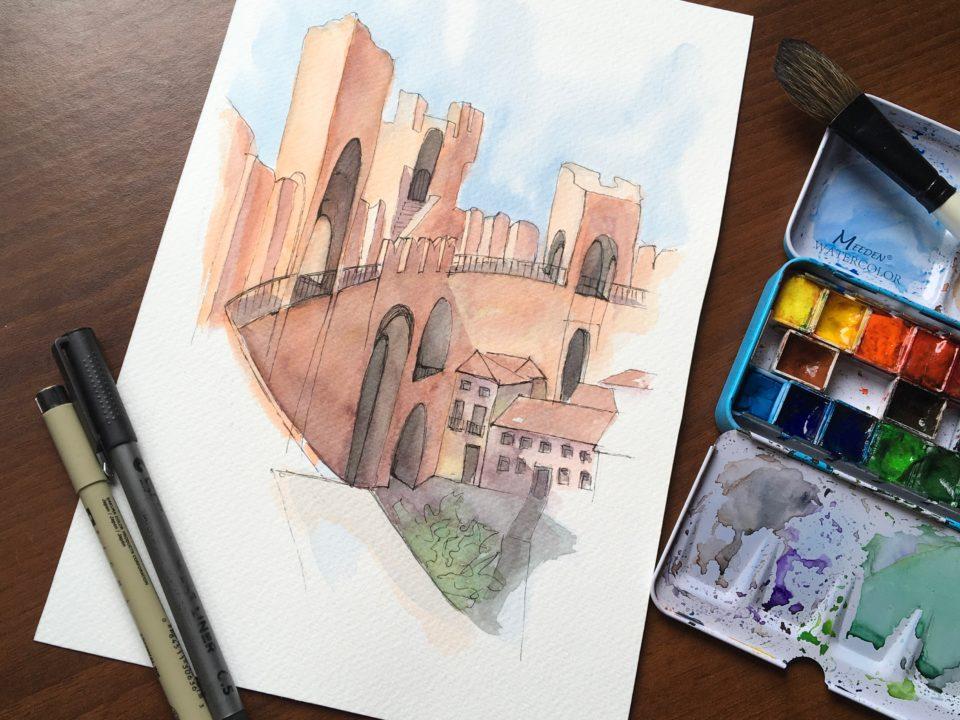 A walk on the Medieval Walls of Cittadella