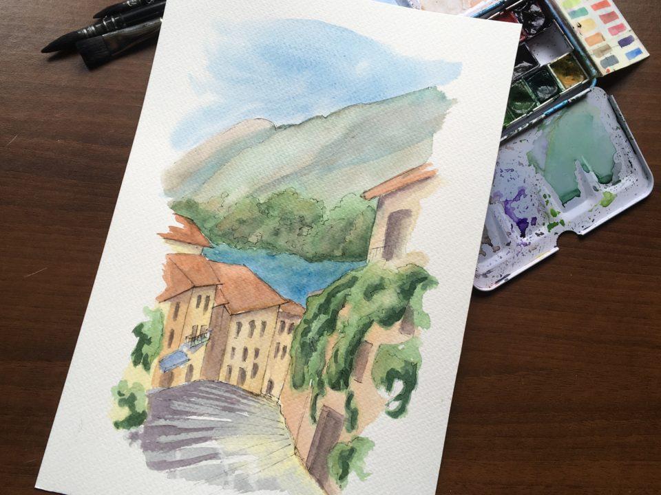 Salita Serbelloni In Bellagio on Lake Como