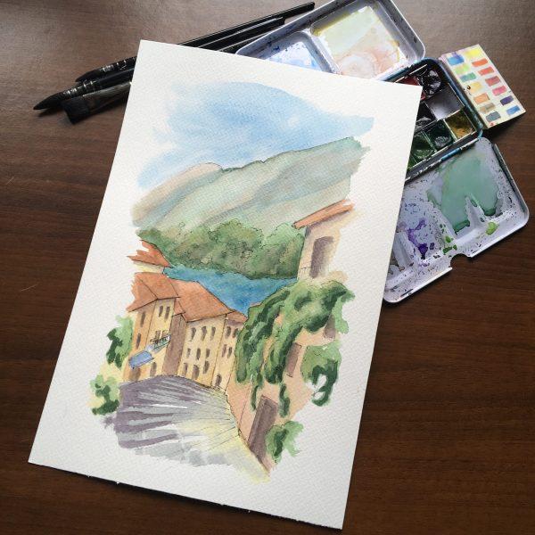 Salita Serbelloni in Bellagio