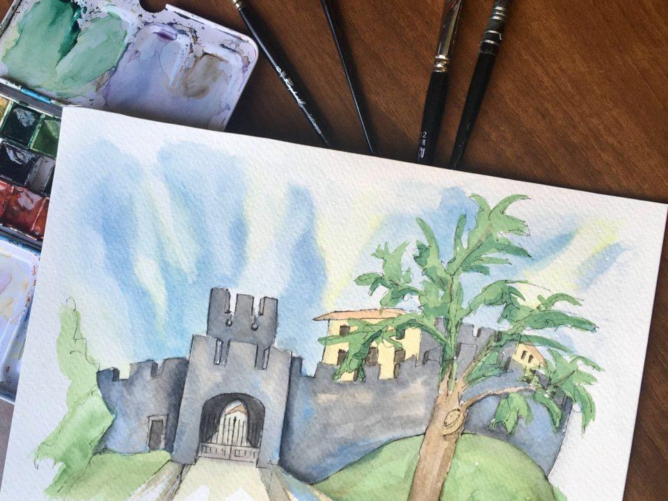 The castle of Arcano di Sopra