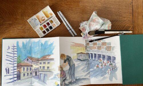 Chiara Go Arts Sketchbook