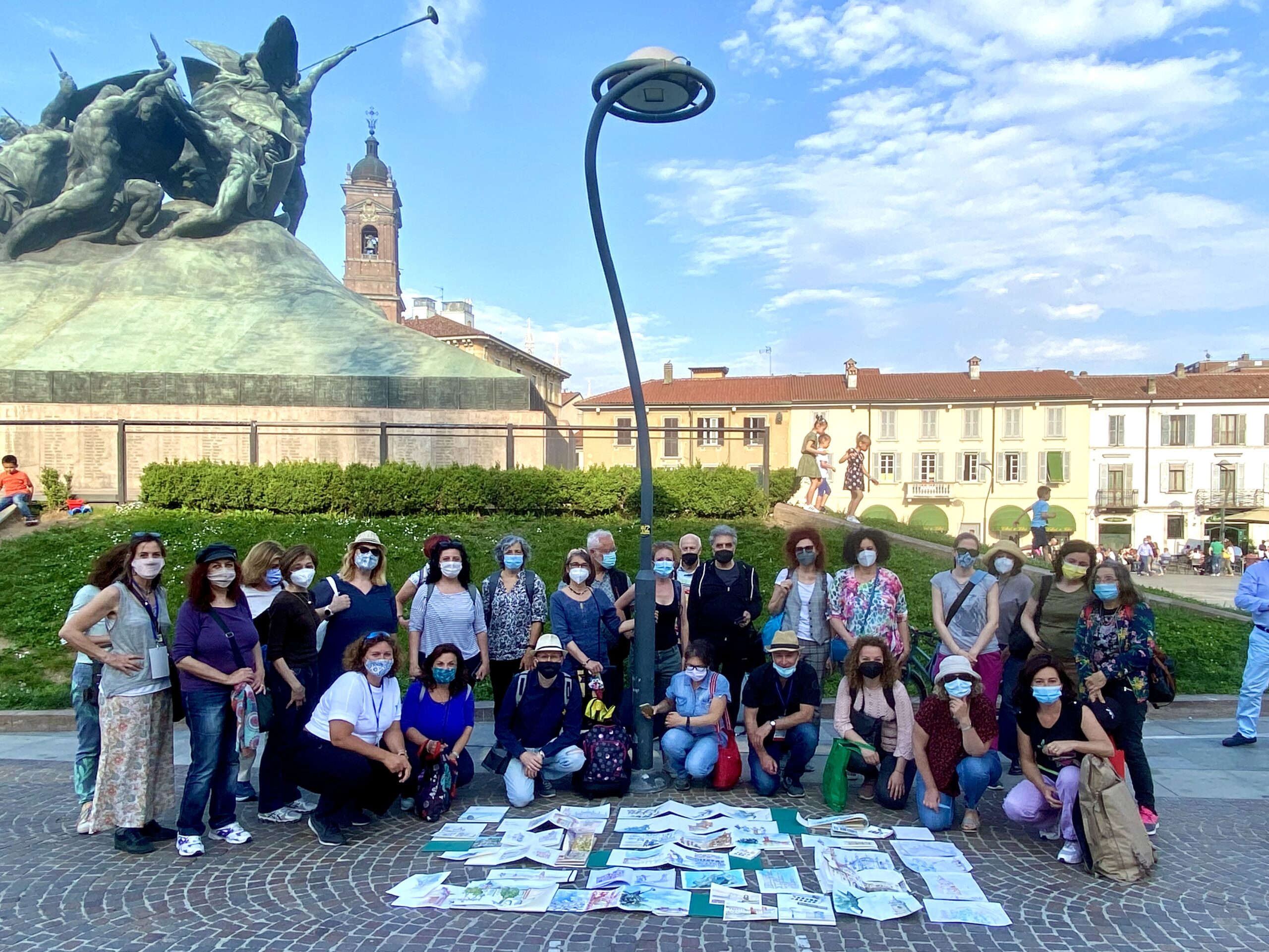 Urban Sketching Monza Marathon Group