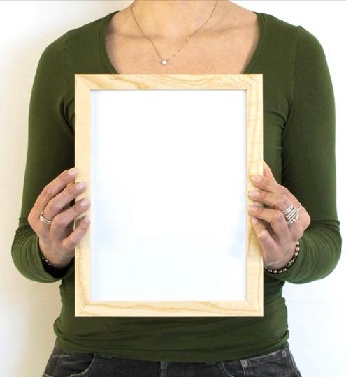 Frame size vertical