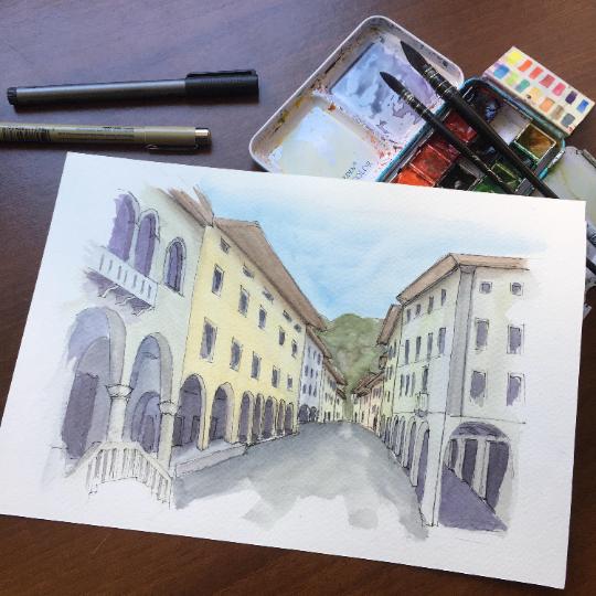 Historical Center Gemona del Friuli