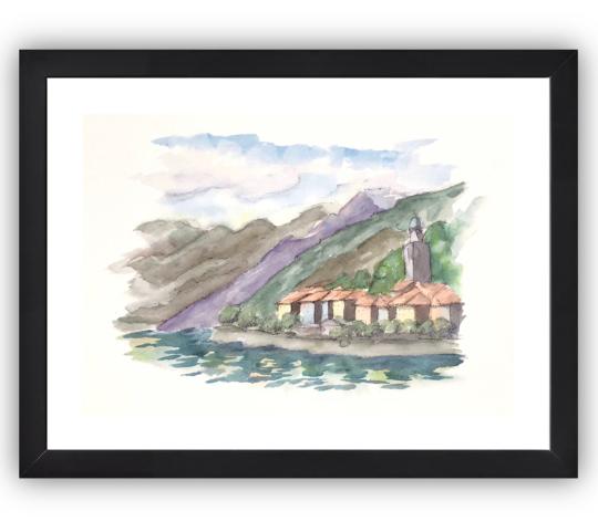 Bellagio longlake frame