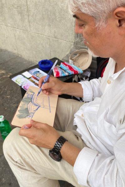 Padova Urban Sketching 7