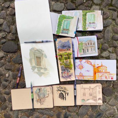 Padova Urban Sketching Sketches