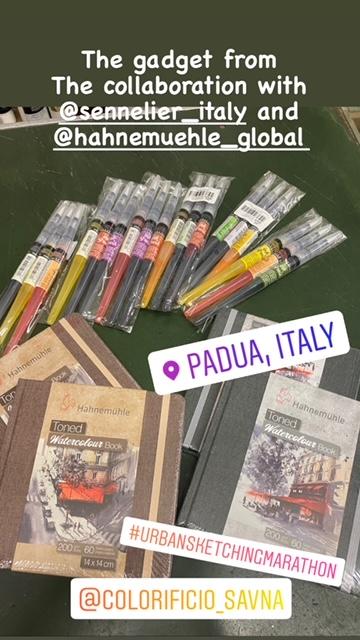Padova Urban Sketching Sponsors