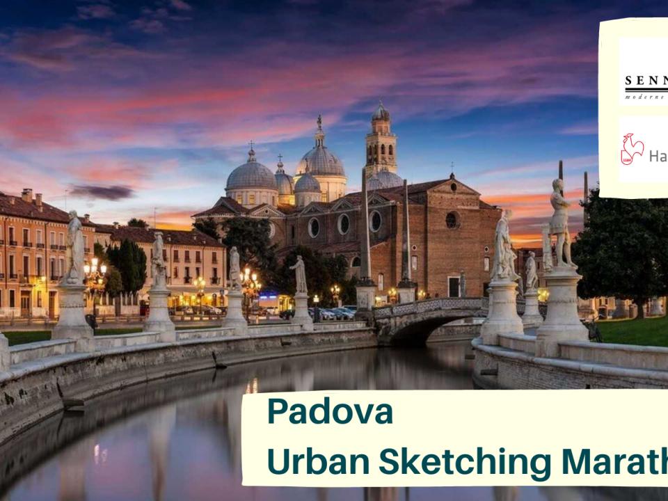 Padova Urban Sketching Marathon