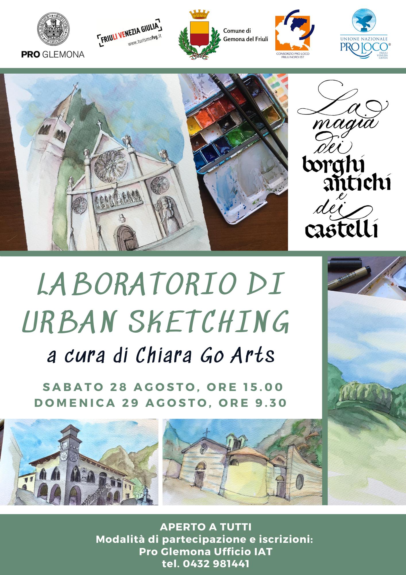 Urban Sketching in Friuli