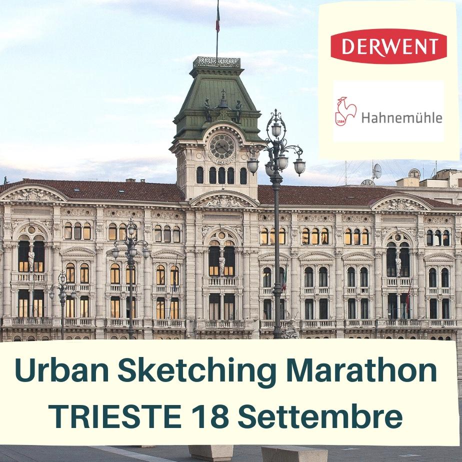 Trieste Urban Sketching Marathon